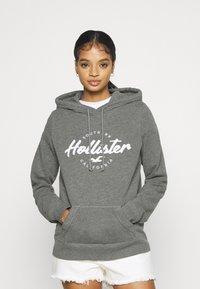 Hollister Co. - TECH CORE - Hoodie - grey - 0