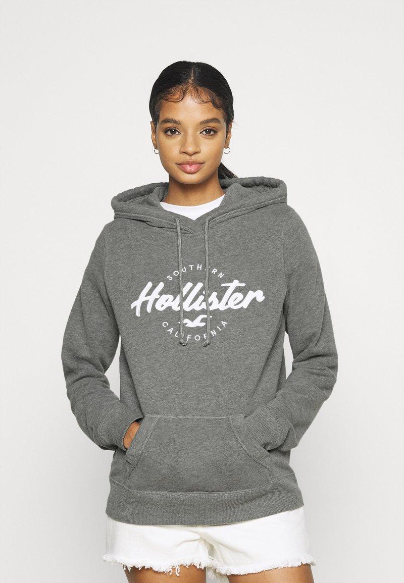 Hollister Co. - TECH CORE - Hoodie - grey