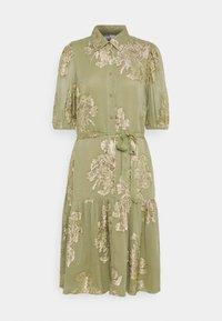 b.young - FVIDUN DRESS  - Shirt dress - swamp - 0
