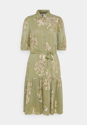 FVIDUN DRESS  - Košilové šaty - swamp