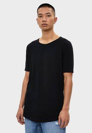 SHIRT MIT RUNDAUSSCHNITT 07758777 - T-shirt basic - black