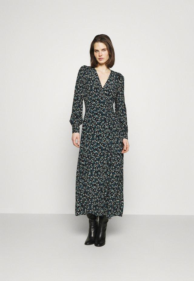 LEO LONGUE - Maxi-jurk - noir