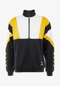 Hummel - HMLDRACO HALF ZIP - Sweatshirt - black - 4