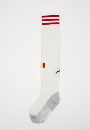RBFA BELGIEN A SO - Knee high socks - white