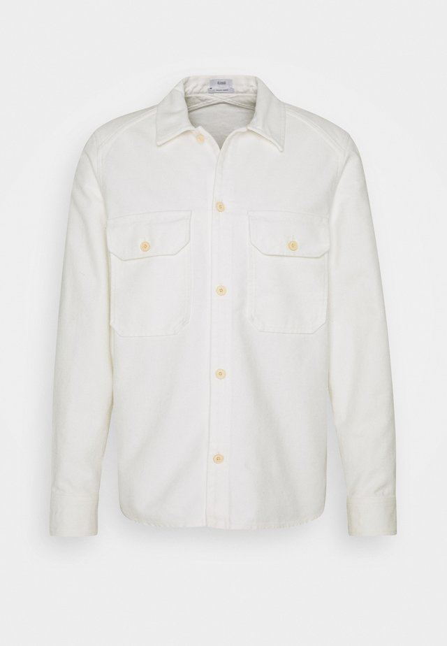 ARMY OVER SHIRT - Shirt - ivory