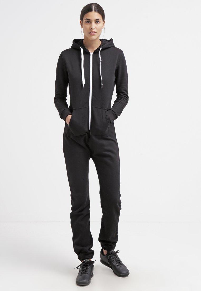 Urban Classics - Jumpsuit - black/white