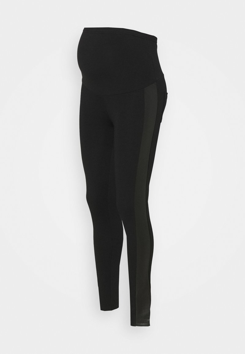 MAMALICIOUS - MLNEW ADDY - Leggings - Trousers - black