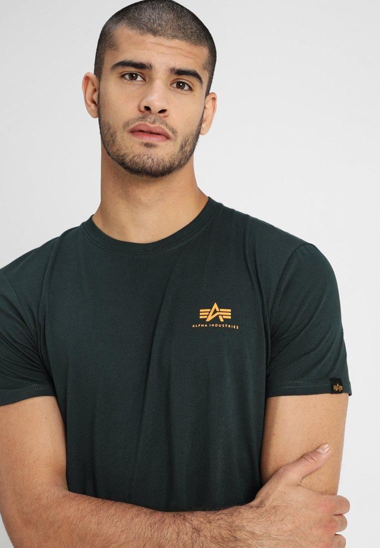 Alpha Industries Print T-shirt - dark petrol T420w