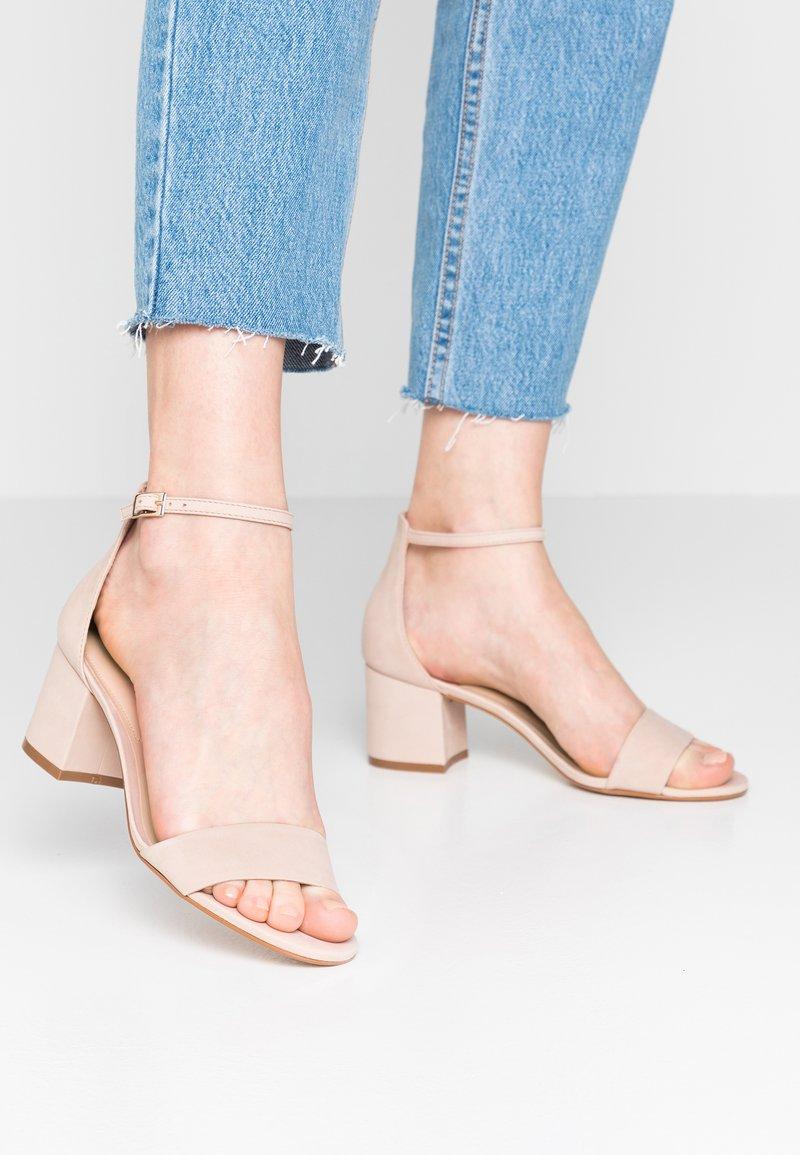 ALDO Wide Fit - WIDE FIT VILLAROSAW - Sandals - blush nude