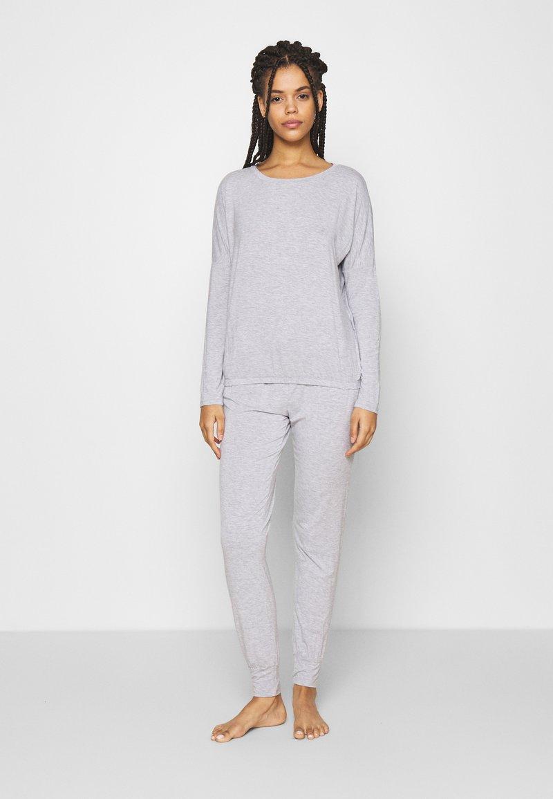 Anna Field - SAMMY SLOUCH SET - Pyjamas - light grey