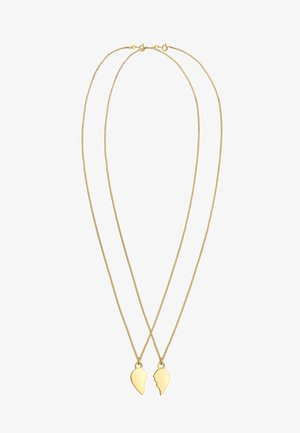HEART - Necklace - gold