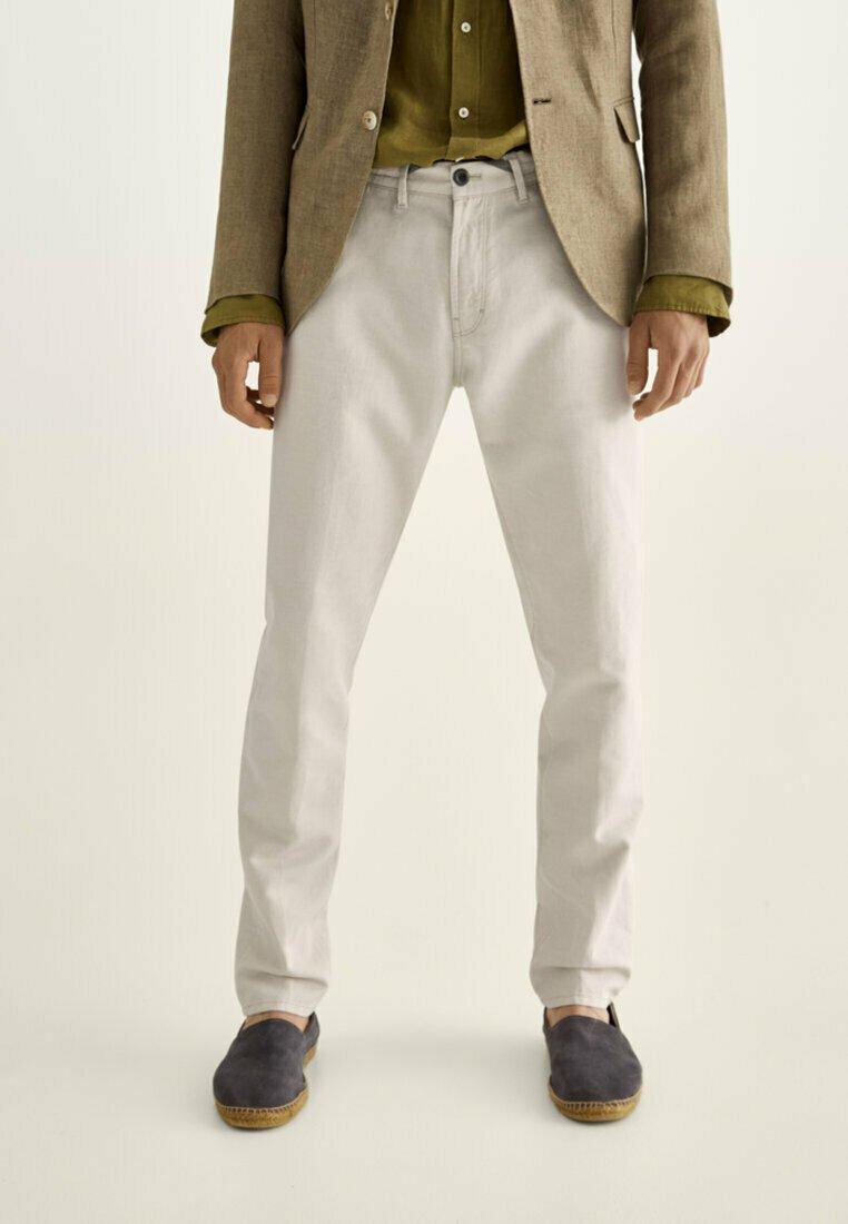 Massimo Dutti - IM VINTAGELOOK  - Trousers - beige