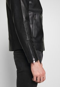 Redefined Rebel - RIVER JACKET - Veste en similicuir - black - 5