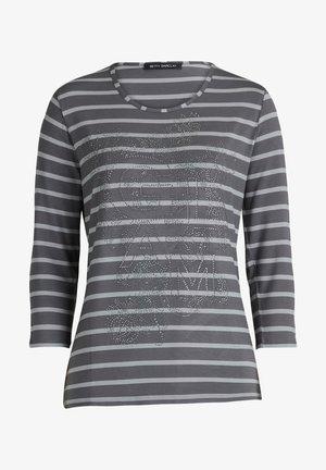 Long sleeved top - grau/grau