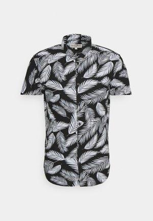 PRINTED SHORT SLEEVE  - Shirt - black