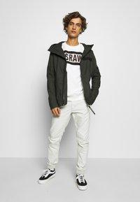 G-Star - VETAR CUFFED SLIM - Trousers - cool grey - 1
