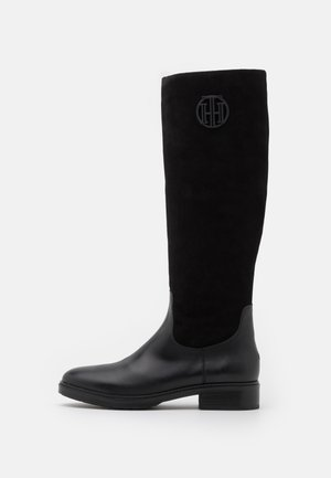 MODERN LONG BOOT - Bottes - black
