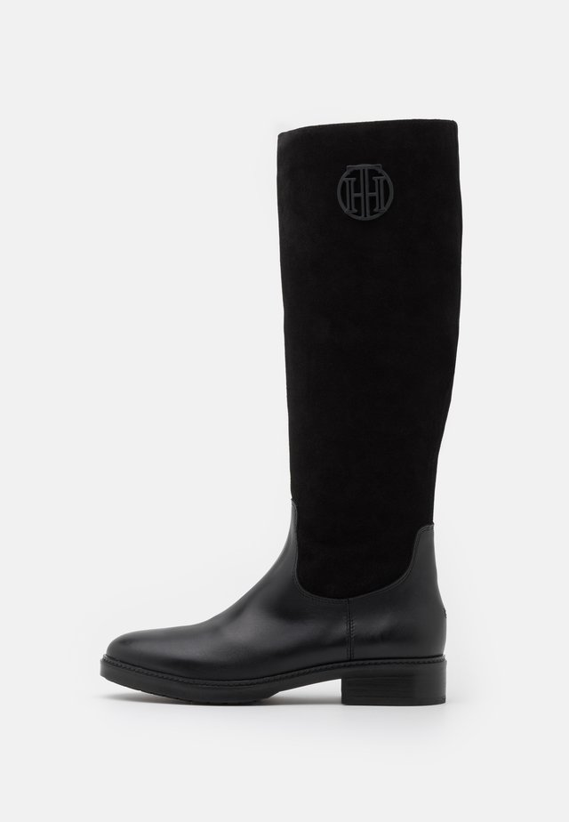 MODERN LONG BOOT - Boots - black