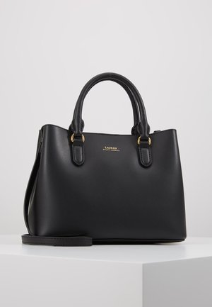 SUPER SMOOTH MARCY - Handbag - black/crimson