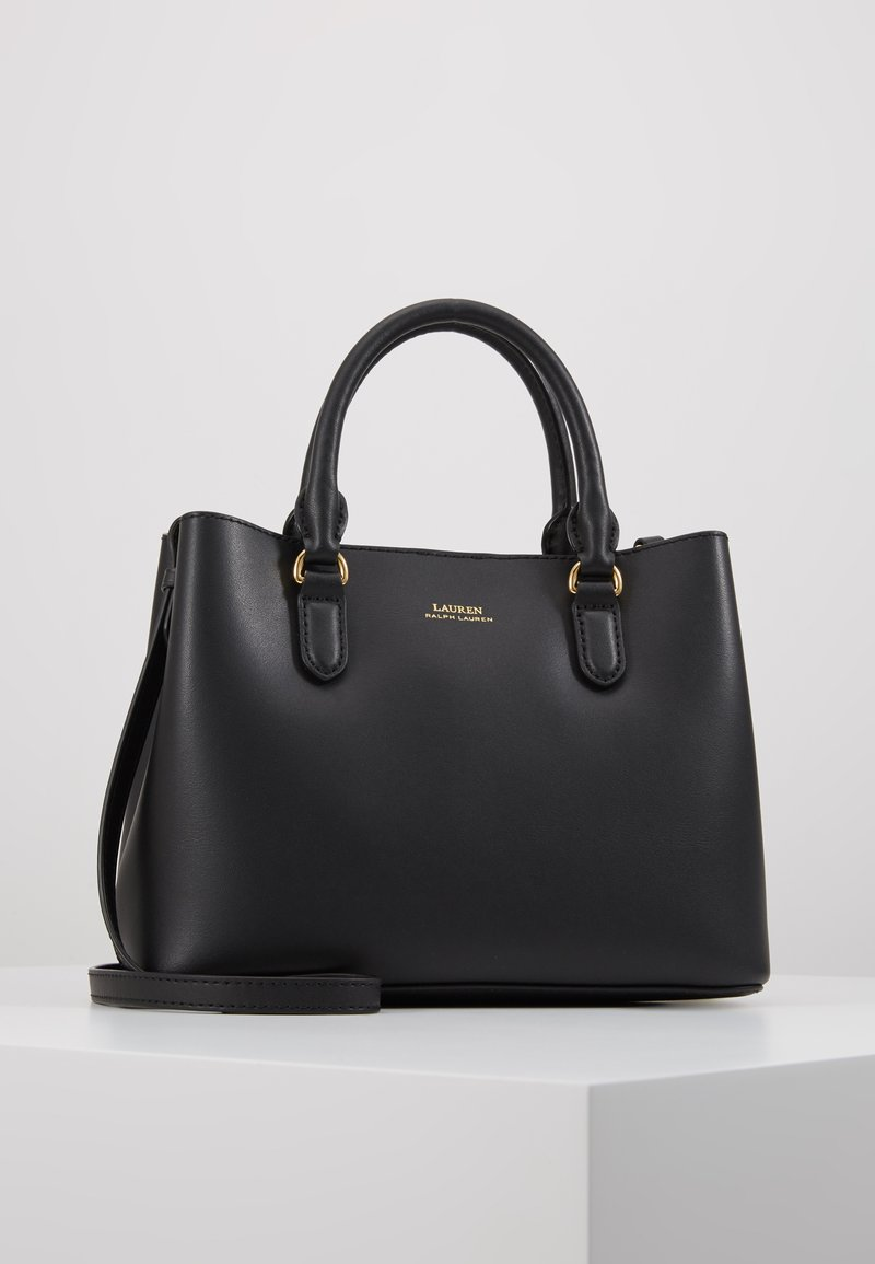 Lauren Ralph Lauren - SUPER SMOOTH MARCY - Across body bag - black/crimson