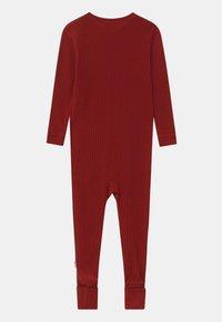 Joha - FOOT BASIC UNISEX - Pyjama - red - 1