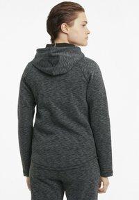 Puma - Zip-up hoodie - black-heather - 2