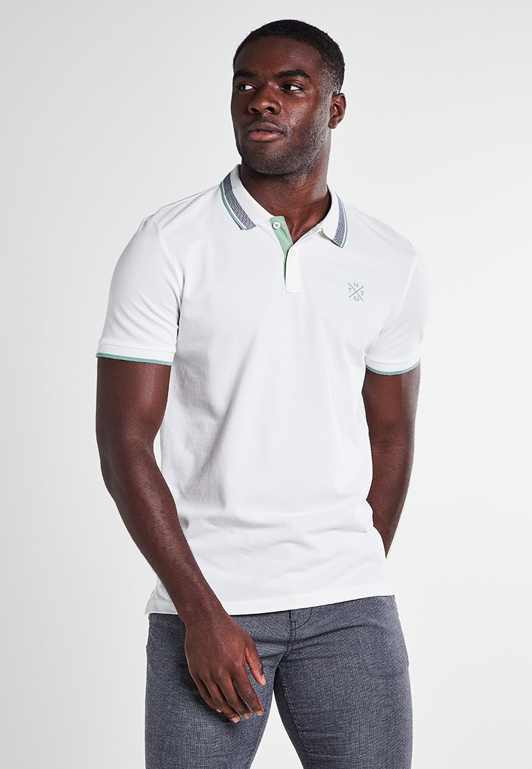 TOM TAILOR - Polo shirt - off white