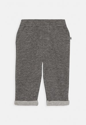 CLASSIC - Pantalones deportivos - schwarz/grau mélange