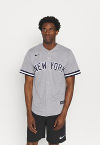 Nike Performance - MLB NEW YORK YANKEES OFFICIAL REPLICA ROAD  - Klubbkläder - dugout grey - 0