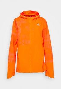 adidas Performance - OWN THE RUN WIND RESPONSE  - Sports jacket - app signal orange/reflective silver - 0