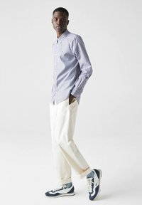 Lacoste - Shirt - blanc / bleu marine - 1