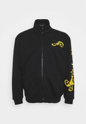 RANKE BIG - Zip-up sweatshirt - black
