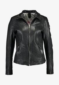 Gipsy - Leather jacket - black - 4