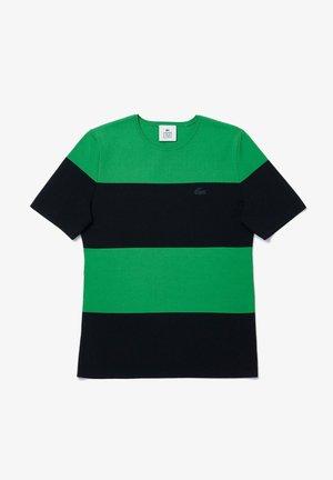 Print T-shirt - vert / bleu marine