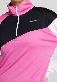 Nike Performance - MIDLAYER - Sports shirt - cosmic fuchsia/black/barely rose/silver - 5