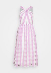 kate spade new york - GINGHAM DRESS - Cocktail dress / Party dress - fresh lilac - 0