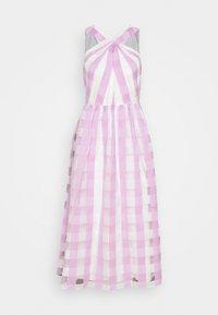 kate spade new york - GINGHAM DRESS - Koktejlové šaty/ šaty na párty - fresh lilac - 0