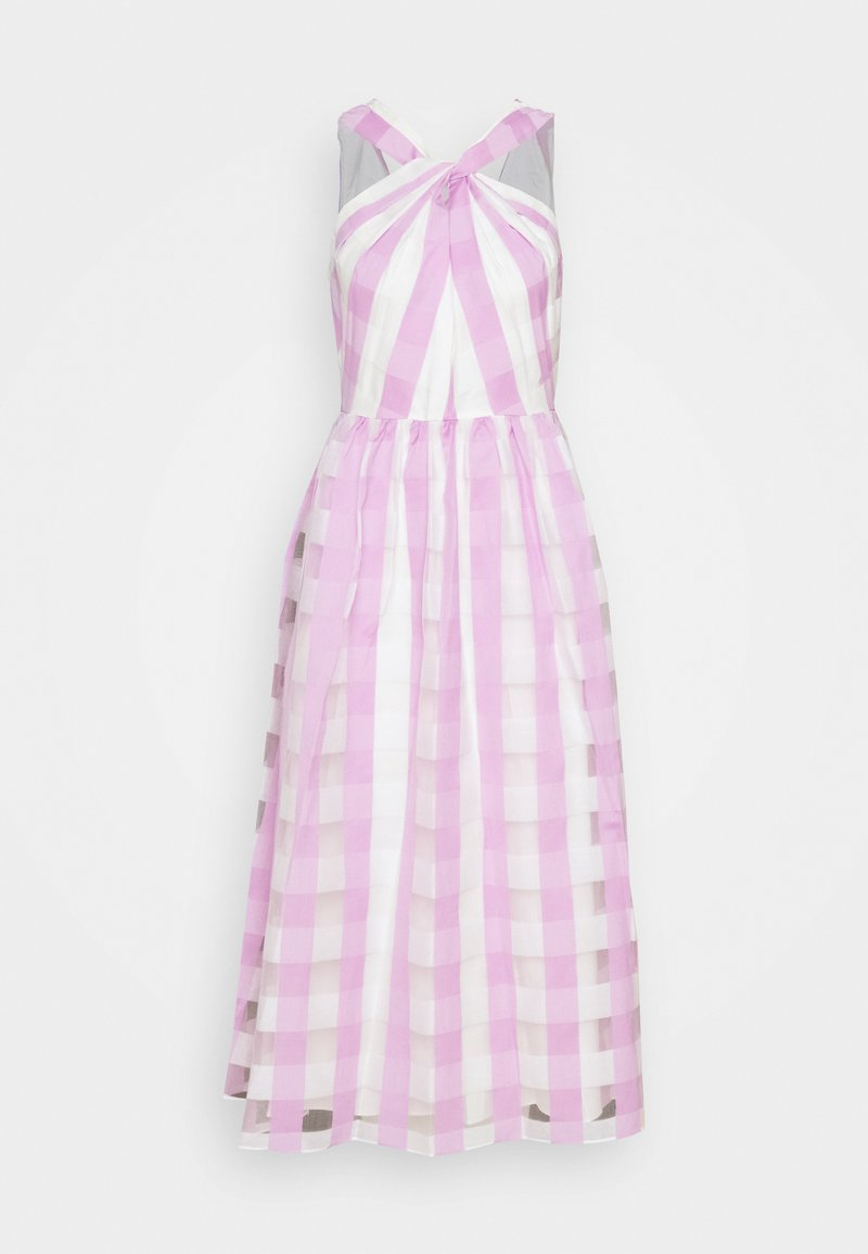 kate spade new york - GINGHAM DRESS - Cocktail dress / Party dress - fresh lilac