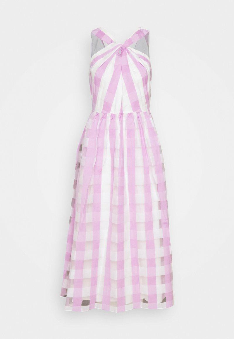 kate spade new york - GINGHAM DRESS - Koktejlové šaty/ šaty na párty - fresh lilac