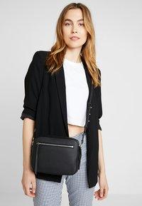 AllSaints - CAPTAIN LEA XBODY - Across body bag - black - 1