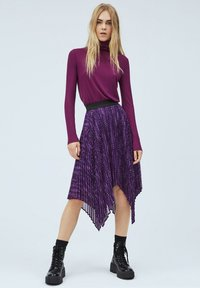 Pepe Jeans - DEBORAH - Long sleeved top - dark plum - 1