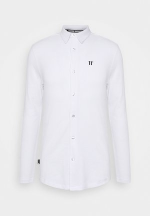 TEXTURED MUSCLE FIT  - Shirt - white