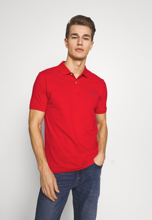 BASIC SLIM - Polo - reds