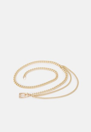 PCFOWO CHAIN WAIST - Midjebelte - gold-coloured
