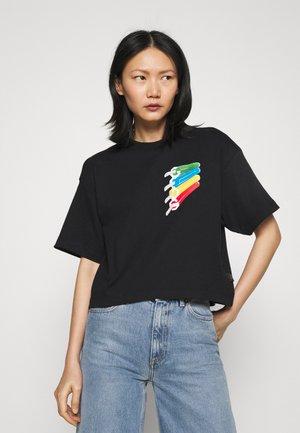 ICE DREAM VINTAGE - Print T-shirt - black