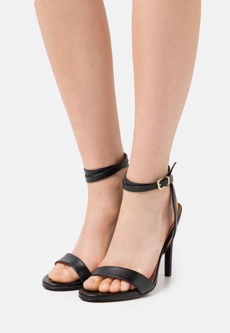 Tamaris Heart & Sole - High heeled sandals - black