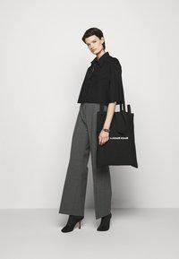MM6 Maison Margiela - Button-down blouse - black - 1