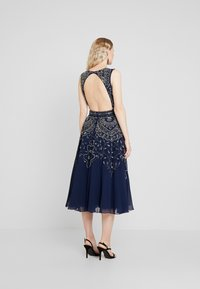 Lace & Beads - EELIA MIDI DRESS - Robe de soirée - navy - 3