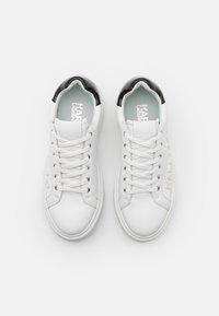 KARL LAGERFELD - MAXI KUP INJEKT LOGO - Sneaker low - white - 3