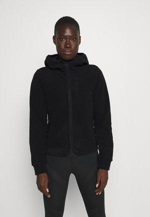 Fleecová bunda - black